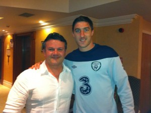 Me and Stephen Ward